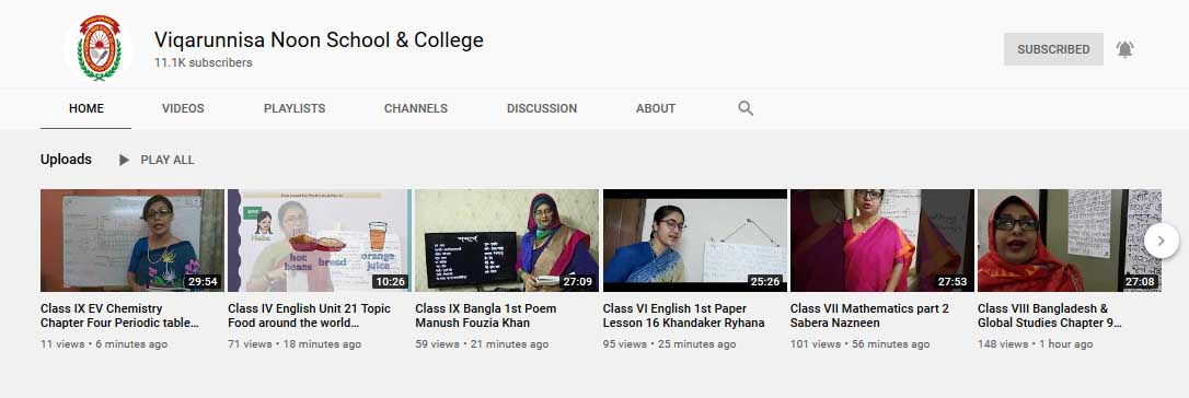 vnsc you tube chanel online class